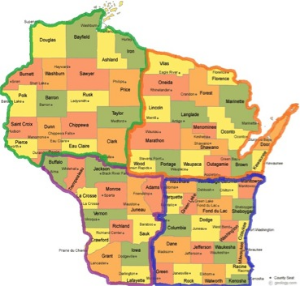 HWLI Regional Map