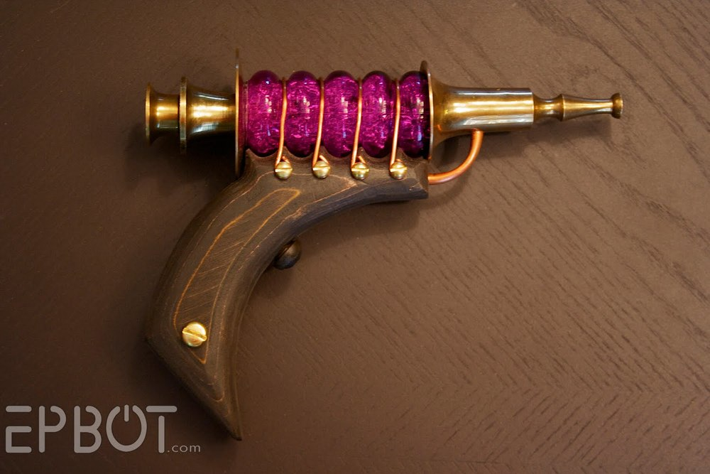 Steampunk guns, Etsy