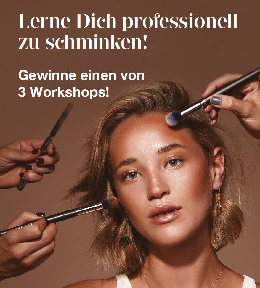Schminken lernen! - mit unserem step by step Workshop im MUD Studio in Berlin!