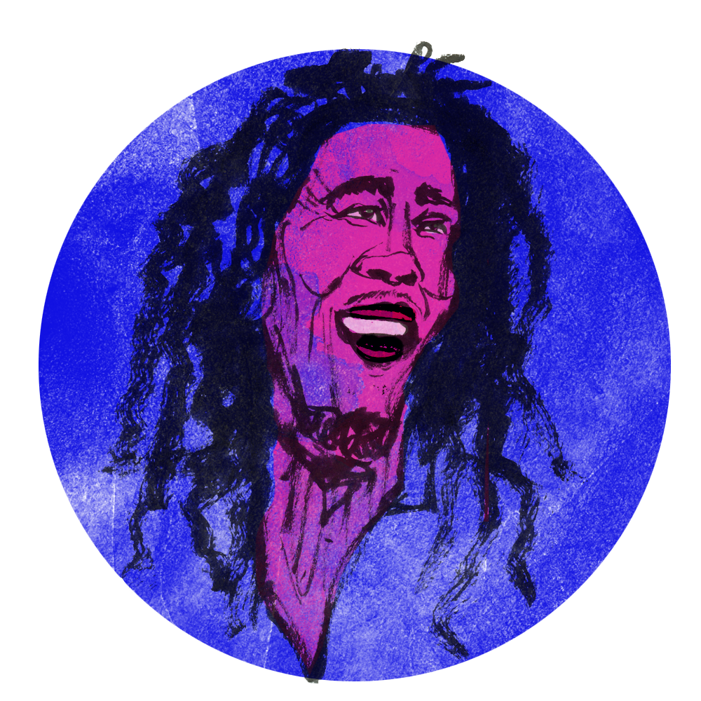 Bob Marley, commissioned for an AJ+ article