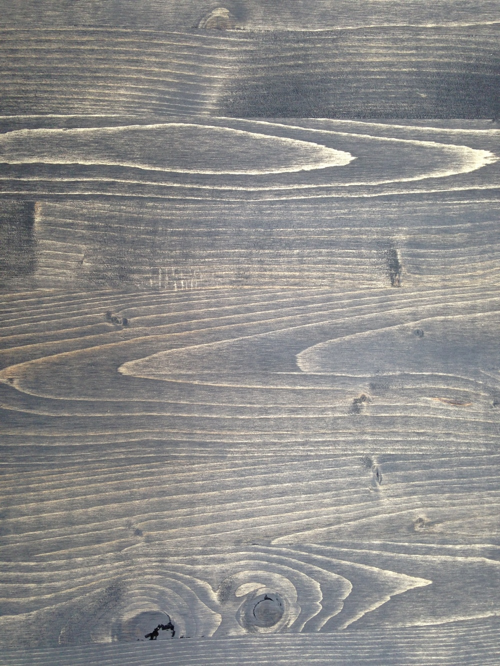 Artwork Display Boards:I applied a light stain wash to the wood in order to let the natural grain show.
