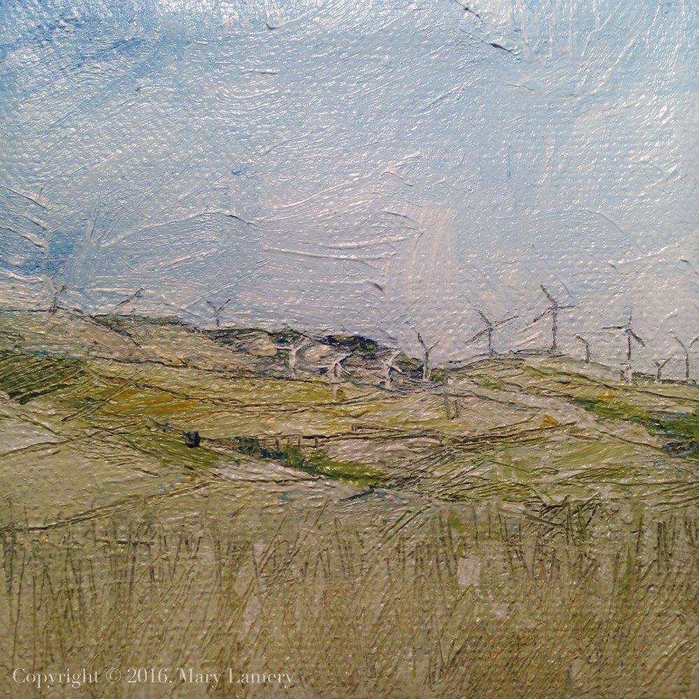 Windmills, Goldendale, WA.