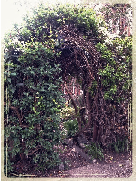 The Secret Garden, Entrance. Photograph, M. Lamery 2018