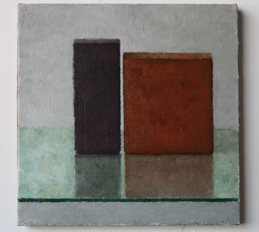 SL313, 2013, Oil on linen, 450 x 450mm