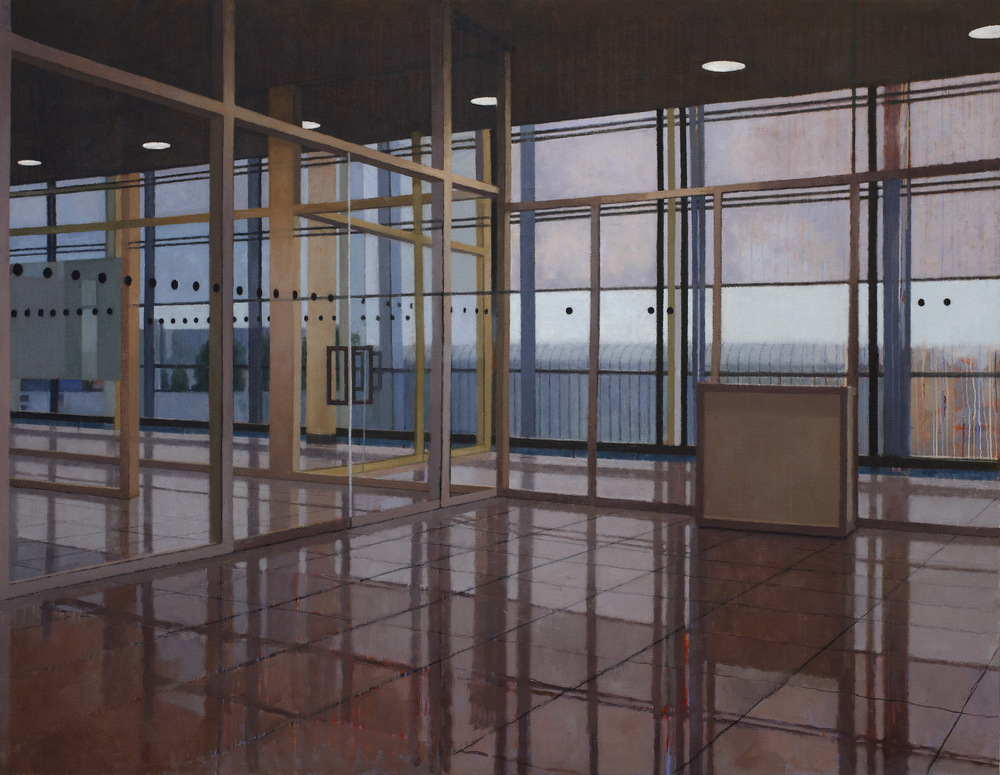 Interior 278 (Munich I), 2011, oil on linen, 1525mm x 1980mm.