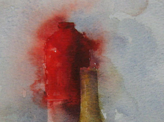 WCSL100 (detail), 2010, water colour on paper, 38 x 29cm