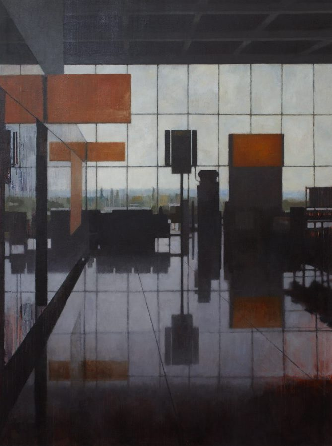 T5 (Heathrow #247), 2010, oil on linen, 180cm x 240cm,