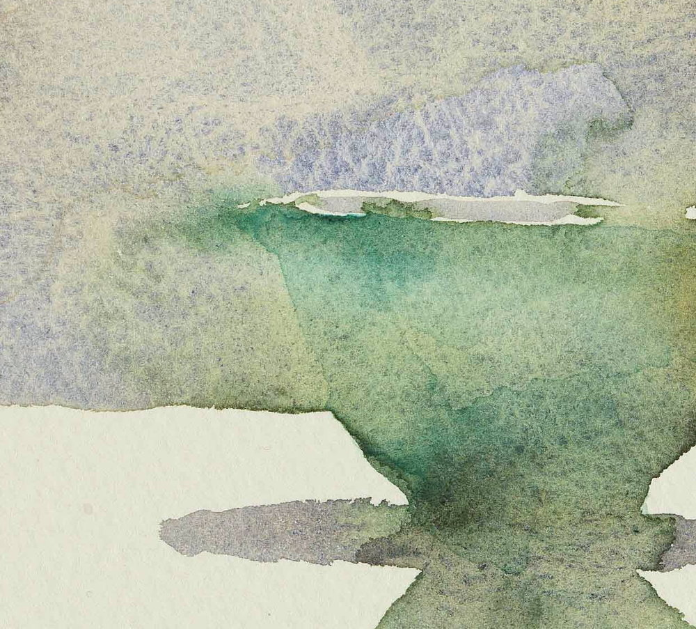 WCSL119 (detail), 2010, water colour on paper, 38 x 29cm.