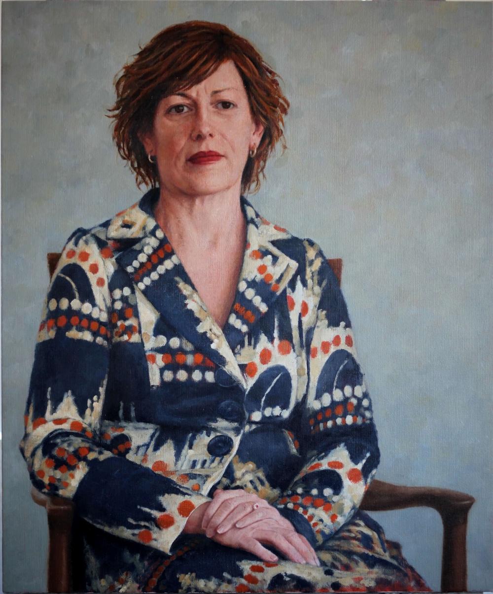 Anna Burke MP, Former Speaker of the Australian House of Representatives, 2015, 1000mm x 1200mm, Oil on linen.