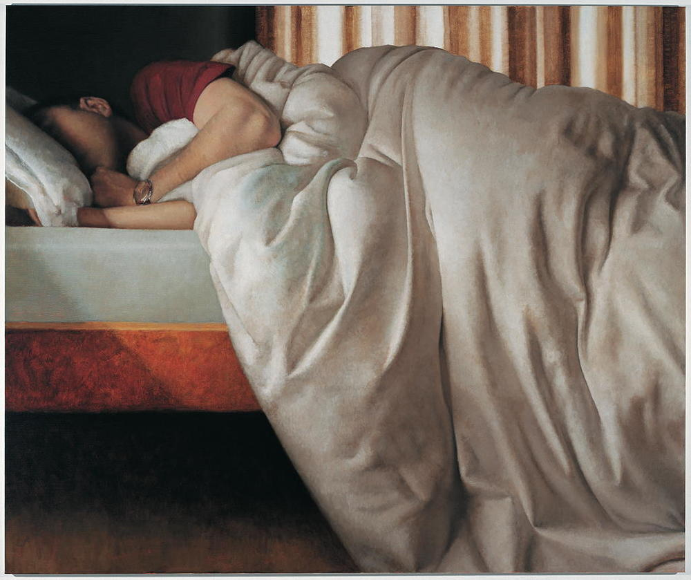 Large Interior 186 (sleep), 2005, oil on linen, 1800mm x 1500mm