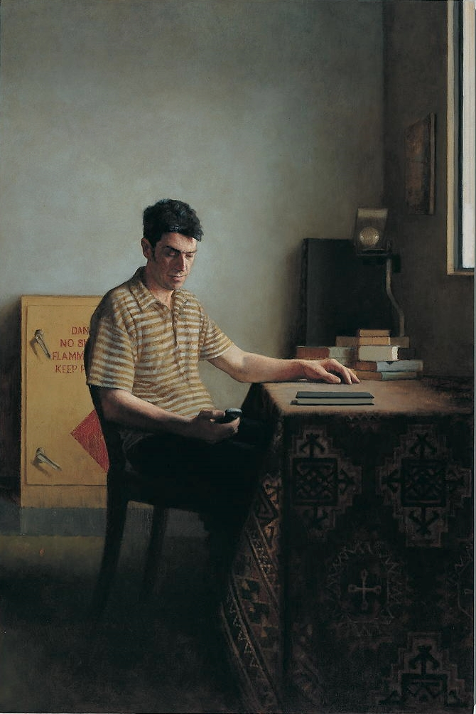 Large Interior 174 (David), 2005, oil on linen, 1800mm x 1200mm