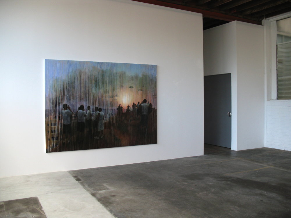 July 2006 (#248), 2009, oil on linen, 2700x1950mm