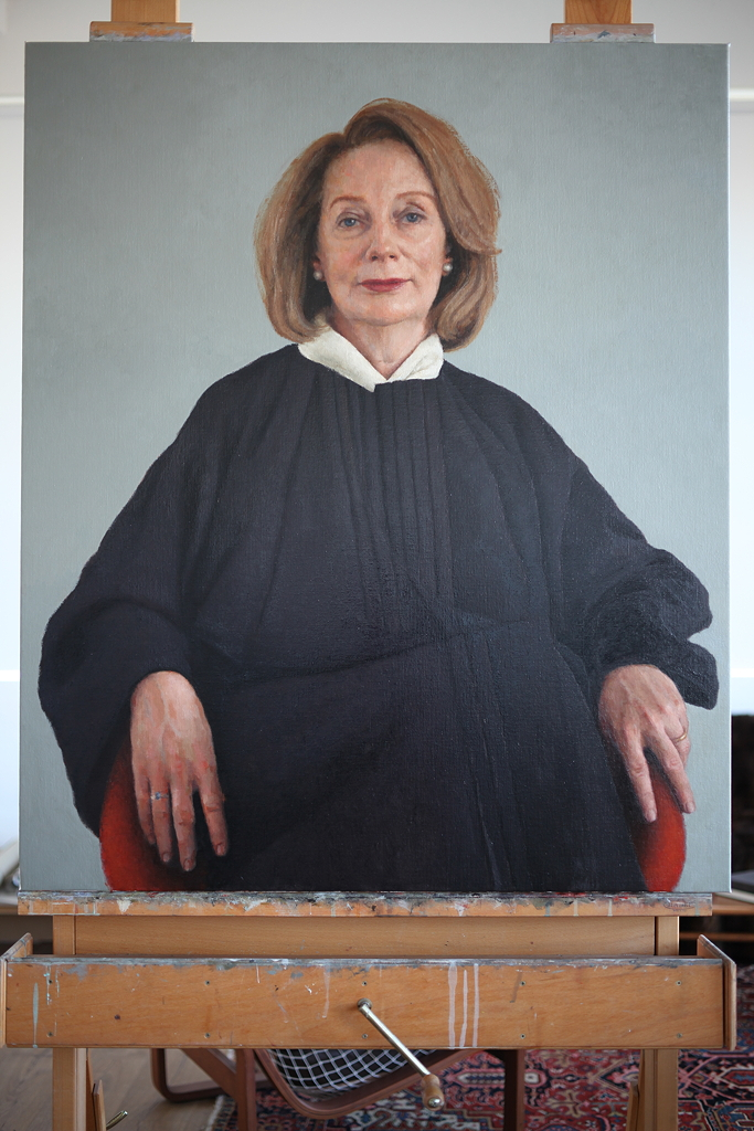 Chief Justice Susan Kiefel, 2018, oil on linen, 1200mm x 1000mm