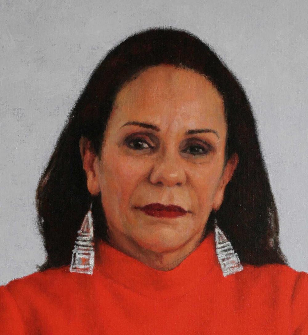 Portrait of Linda Burney MP (detail)