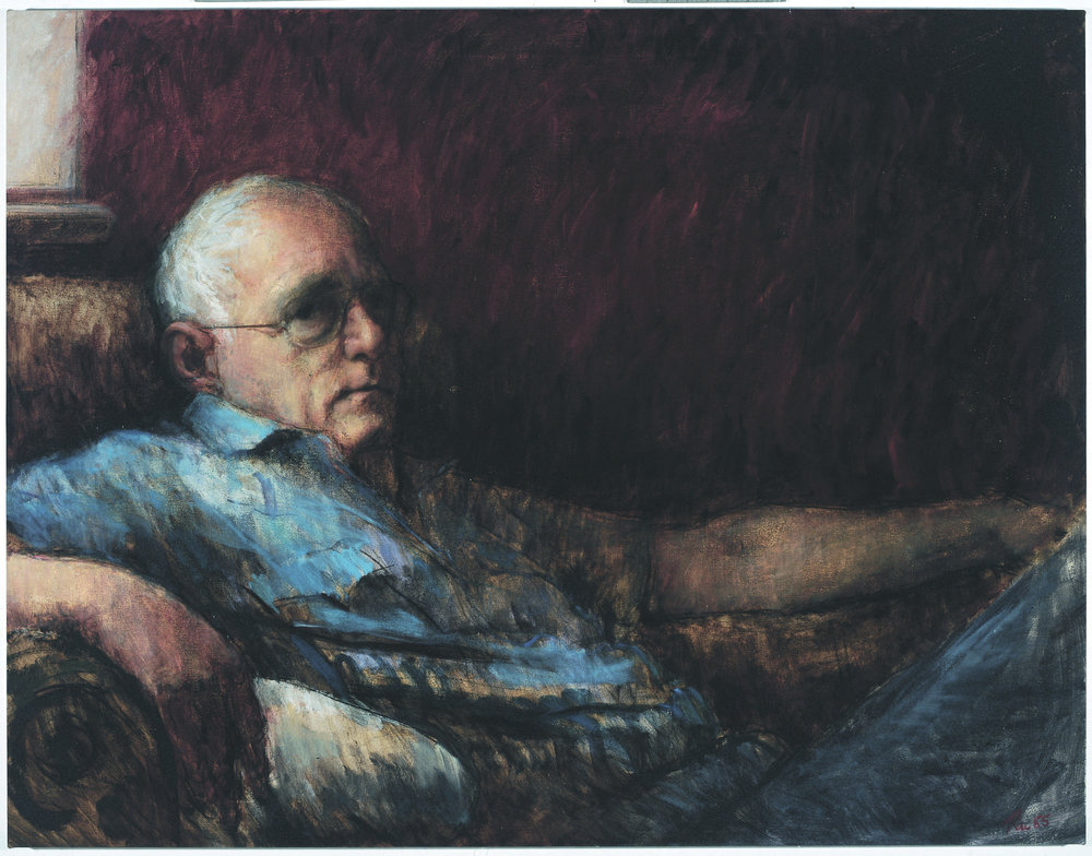 Portrait of my Father, 1984, oil on canvas, 1050 x 1360mm