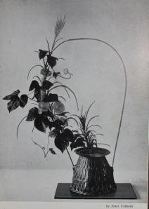 Ikebana postcard 1