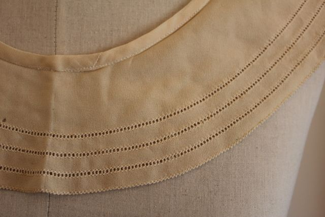 Pearl Button work collar