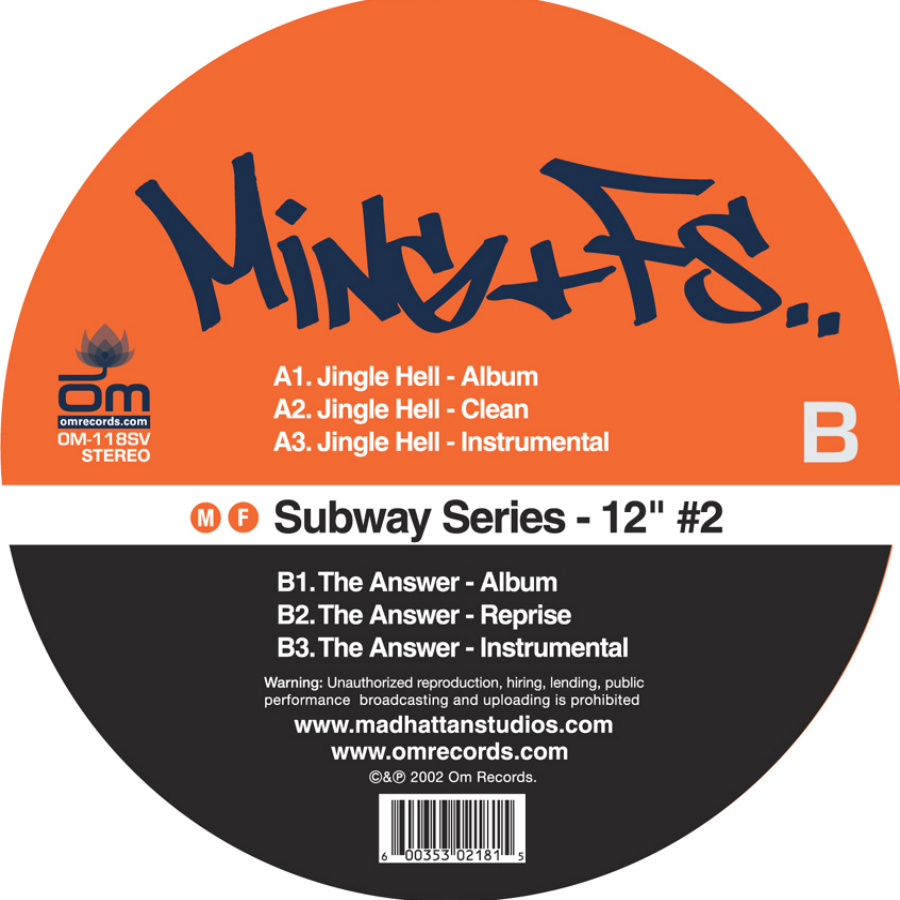 "FS & Ming - Subway Series 12"" #2"