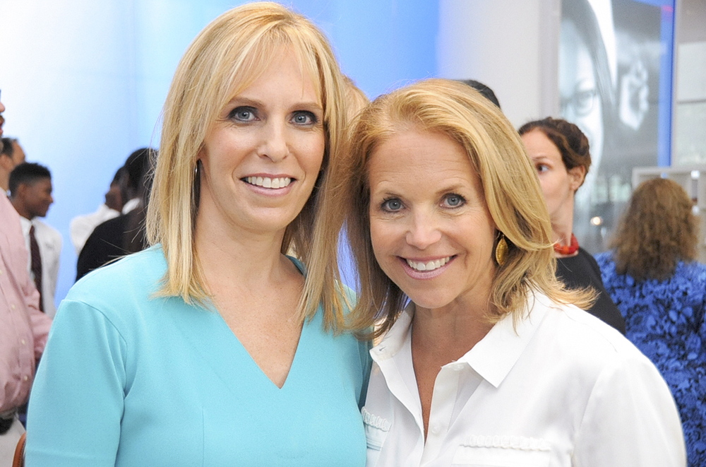 Harlem Village Academy Founder, Deborah Kenny with Katie Couric