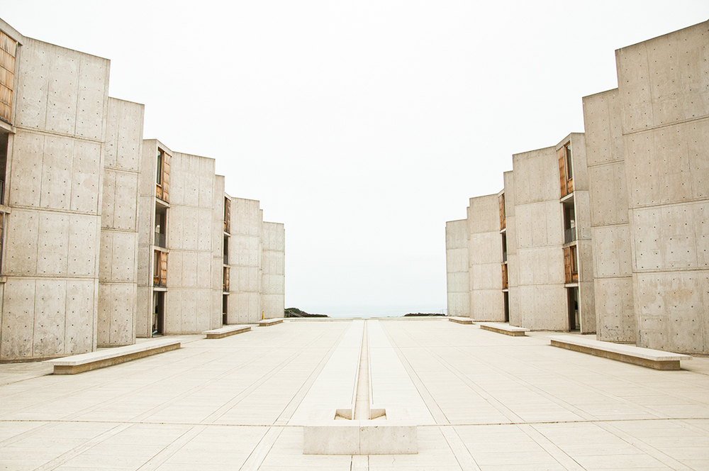 Tuesday afternoon - a trip to San Diego to see my friend, Ellie and her boyfriend, Mike. Louis Kahn's Salk Institute...