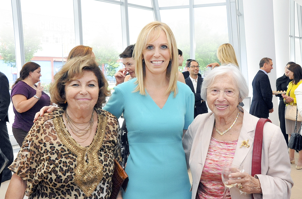 Deborah Kenny with her mother and mother-in-law