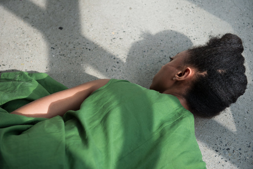 """Stillbirth"" Fana Fraser OVEMENT CURRENCY, August 2016 Image by Corey Melton."