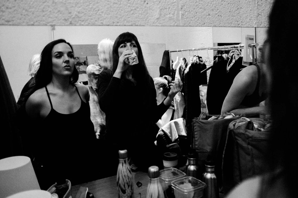 Nicole + Mare, pre-show  Volume VI, Issue I, March 2016   Image: Corey Melton