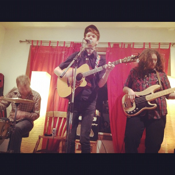 RTT, acoustic show last night  (Taken with  instagram )