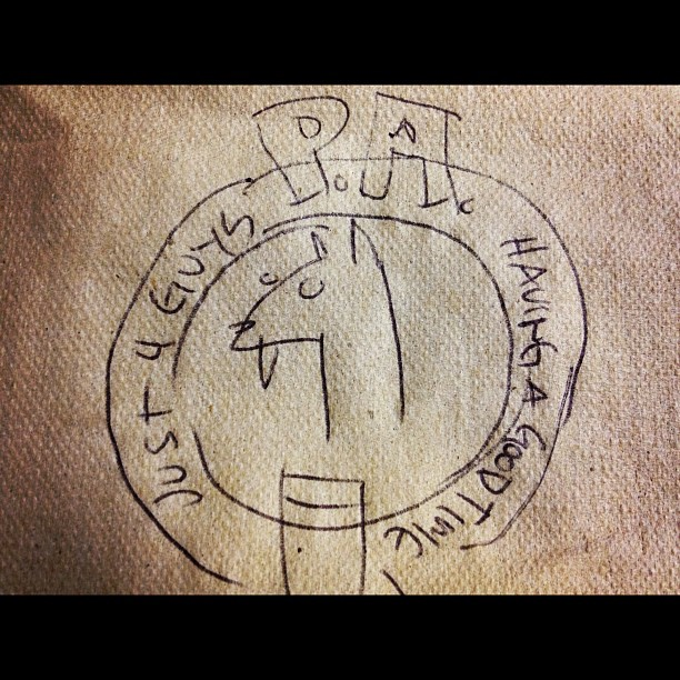 """New PA logo for our upcoming album""by Belden (Taken with instagram)"