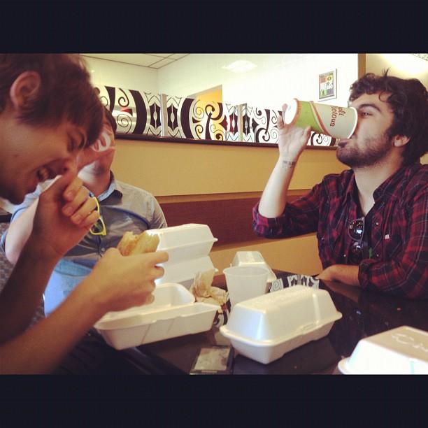 Deli Delicious, Fresno, peep it, too good-DM (Taken with instagram)