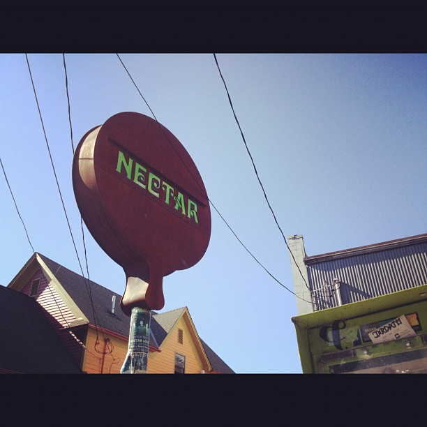 Seattle we're playing at the Nectar Lounge tonight! (Taken with  Instagram )