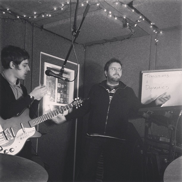 theradiotransmissions: Practice practice practice, Walnut Creek show tomorrow!