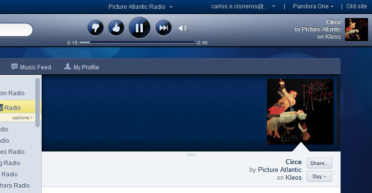 Picture Atlantic is now on Pandora Radio!