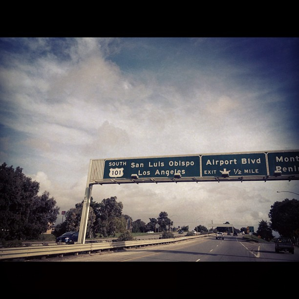 Tonight we play San Luis Obispo-DM (Taken with instagram)