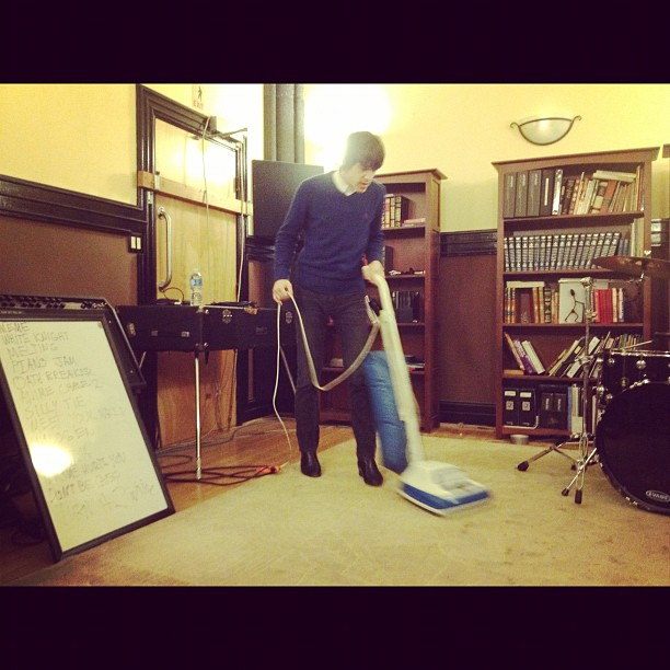Cleaning up (Taken with instagram)