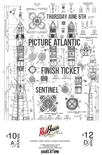 Not only am I stoked to be playing this show because of Finish Ticket, but Picture Atlantic will be showcasing new songs and some covers. See you there. - Nik