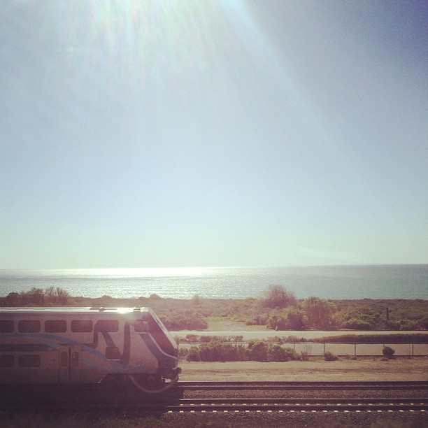 Heading to San Diego for an early show, infos on ye olde Facebook, I love the drive -Daniel