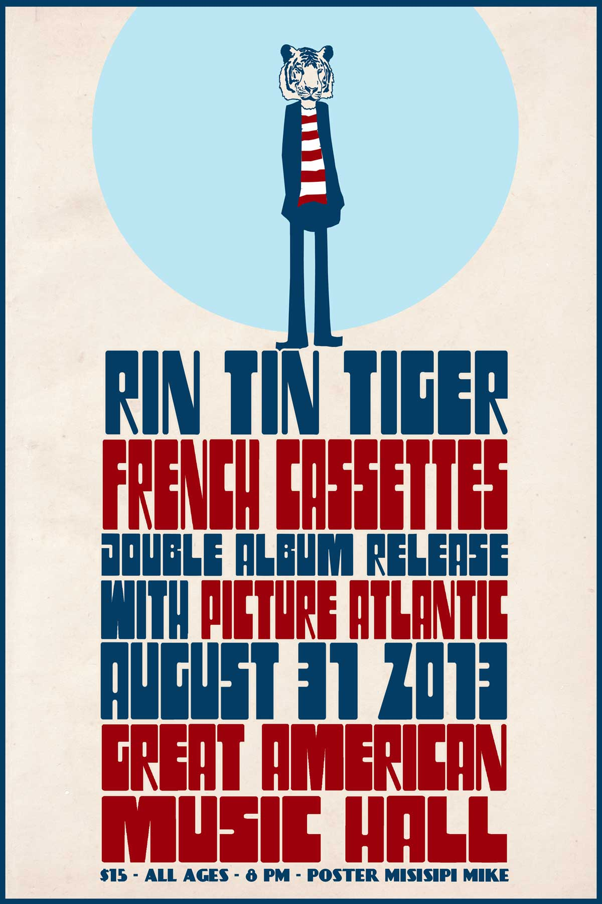I recently had some very encouraging news on the amount of presales we've already sold. This show is starting to heat up. Grab your pre-sales now. http://tickets.gamh.com/events/326635/Rin-Tin-Tiger P.S. For long time PA fans, we will be playing a set specifically tailored around our album 'Kleos'.