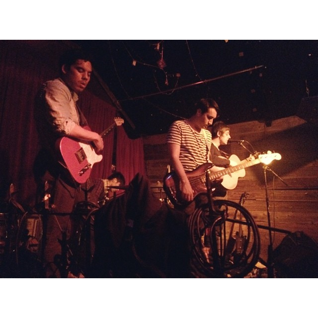 whosthatzoegirl :     Raced over to the mission after work to see  pictureatlantic  play one more time before I move on Monday! (at Amnesia)