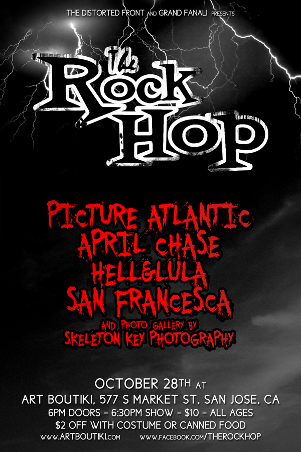 Our next big Rock Hop is on it's way! This one is going to be a powerhouse of localness. Also featured will be the amazing photography of Anna from Skeleton Key Photography! You can also RSVP Here on Facebook: https://www.facebook.com/events/488626041161945/?ref=ts&fref=ts