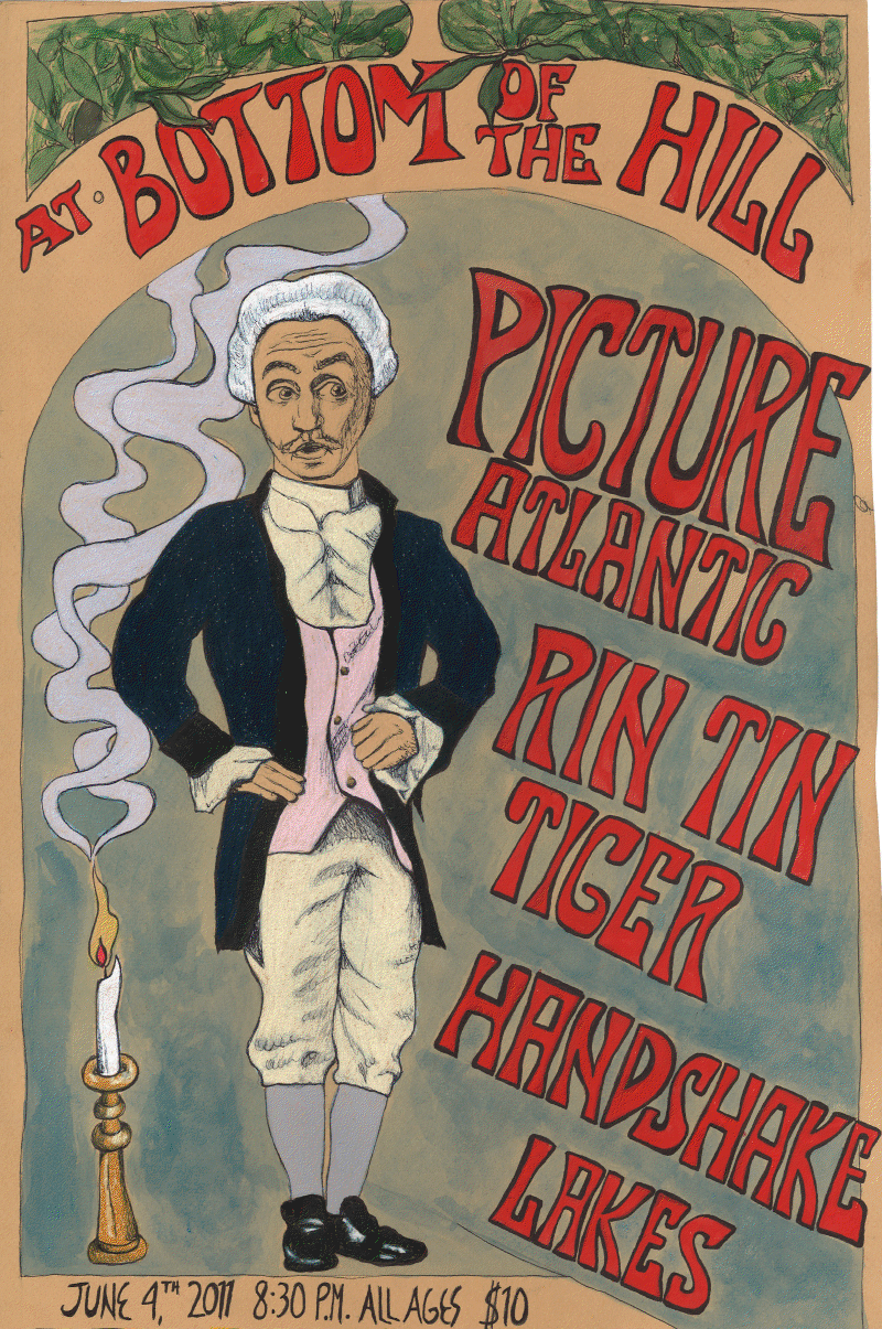 June 4th we're returning to SF to play Bottom of The Hill with our good friends Rin Tin Tiger. Also making amazing guest appearances will the fantastic Lakes, whom we've had the pleasure of playing with before, and SF's very own Handshake. Get your pre-sales while you can at www.bottomofthehill.com