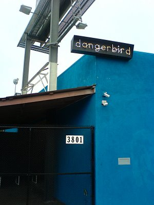 Thanks to our generous friend (who happens to be working there), we were able to do a little tour of Dangerbird records in LA. You may know them from their releases with Silversun Pickups and The Dears to name a few. It was a cool little place and everyone was really kind.