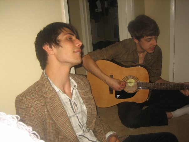 Nik being a minstrel, and Jordan, vocalist of The Constellation Branch
