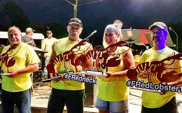 Congratulations to Team Hammerheads on their win Saturday. #fredlobster #fredlobster100 #yinyout #fredtoberfest2018