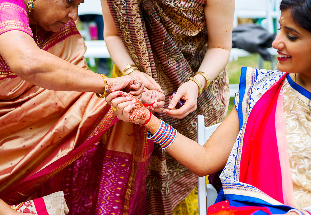 Indian baby shower wedding ceremony at rust manor house