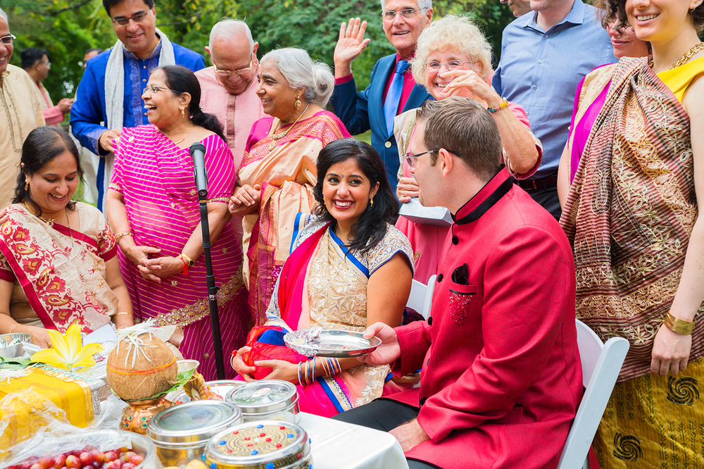 Rust Manor House indian wedding photos bride and groom