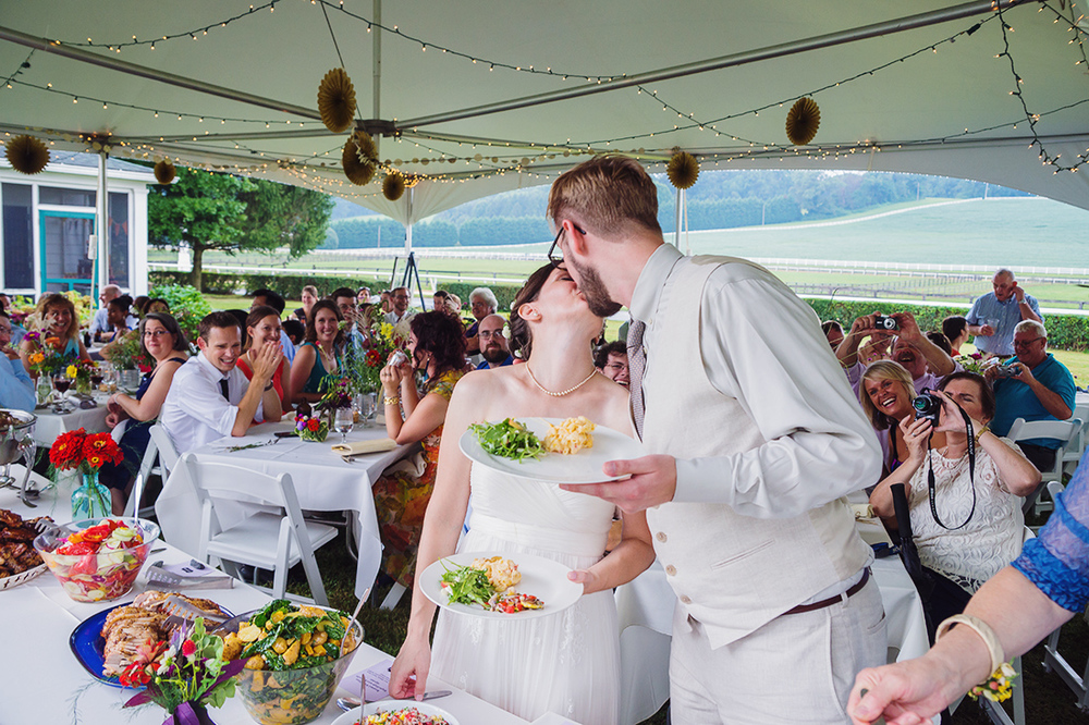 Merryland Farm in Baltimore wedding reception