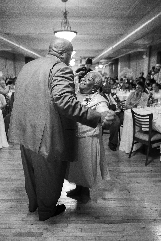 Mother son dance at Schindel-Rohrer Ballroom Ava Lounge