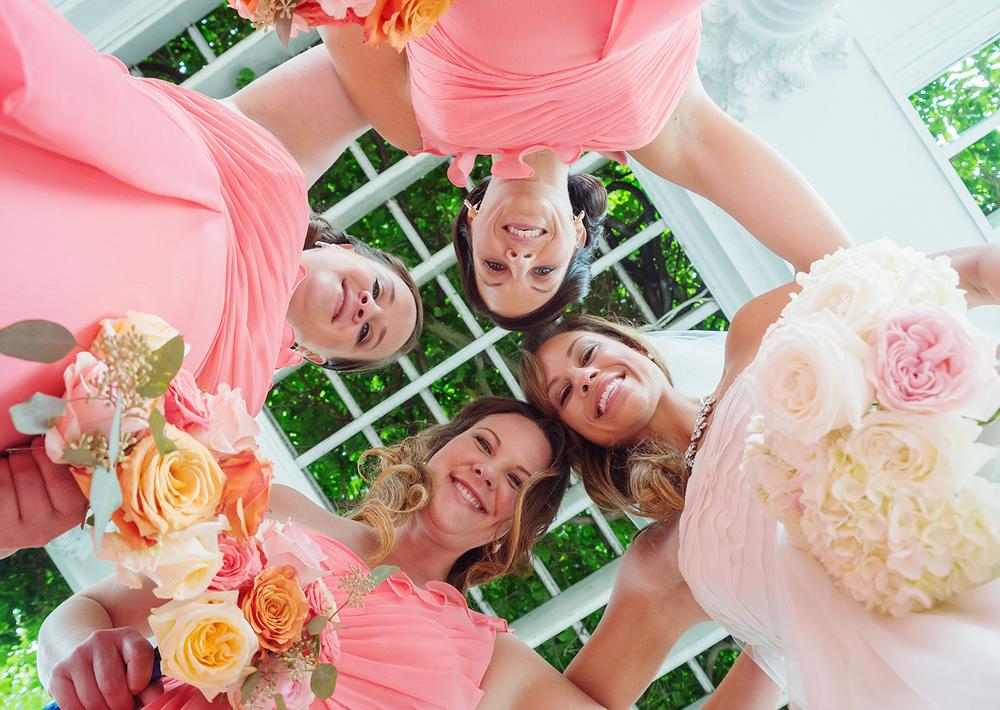 Frederick Maryland wedding venue bridesmaids