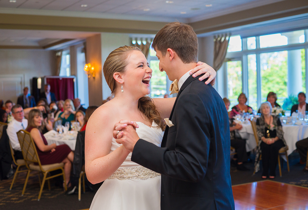 First dance at Springfield Country Club in Virginia
